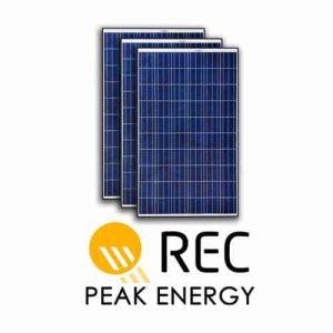 Rec Peak Solar Panels in Cyprus
