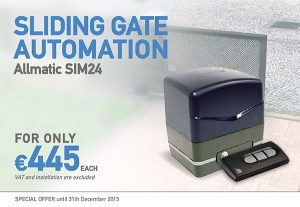 Allmatic Sliding Gate Automation SIM24