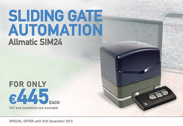 Allmatic Sliding Gate Automation SIM24